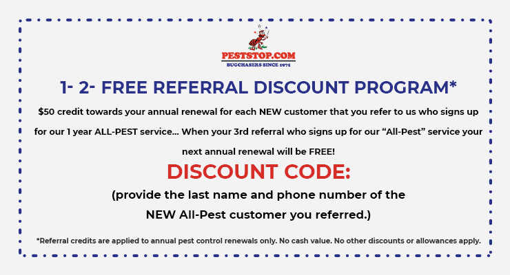 1-2-FREE REFERRAL DISCOUNT PROGRAM