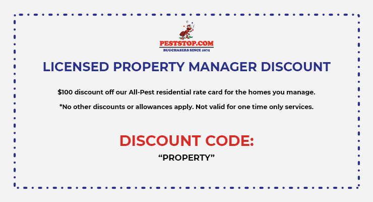 Licenses property manager discount